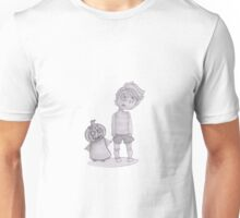 button boy and pumpkin kid Unisex T-Shirt