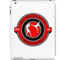 Muay Thai Kickboxing Competition Ready Red iPad Case/Skin
