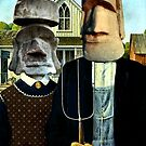 Easter Island Gothic by SuddenJim