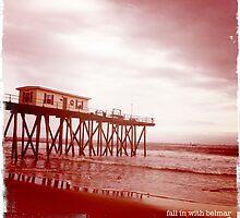 red pier by Phlite