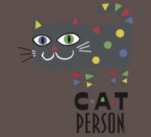 Cat Person Kids Clothes