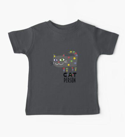 Cat Person Kids Clothes