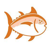 Tennessee Tri-Star Fish by Davis Luna