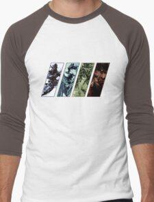 Metal Gear Solid Evolution Men's Baseball ¾ T-Shirt