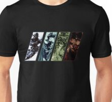 Metal Gear Solid Evolution Unisex T-Shirt
