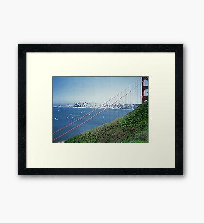 San Fancisco Bay - I979 Framed Print