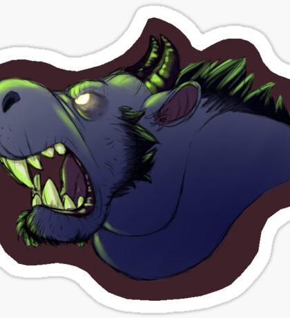 Gluttony  Sticker