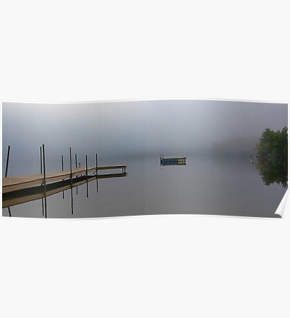 Reflections - Keoka Lake (Early Fall) Poster