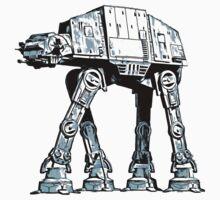 ll Terrain Armored Transport AT AT walker T-Shirt
