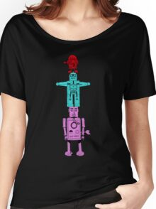 Robot Totem - Color Invert Women's Relaxed Fit T-Shirt