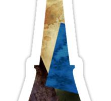 Eiffel Scraps - Eiffel Tower ScrapBook Sticker