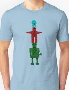 Robot Totem - Color Unisex T-Shirt