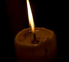 Candle Flame by Wealie
