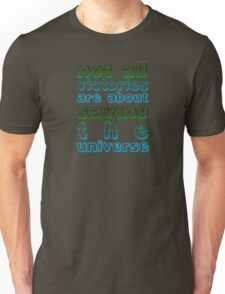 Doctor Who Rory Quote: Victories Unisex T-Shirt