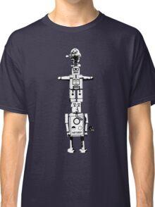 Robot Totem - BiLevel White Classic T-Shirt