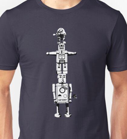 Robot Totem - BiLevel White Unisex T-Shirt