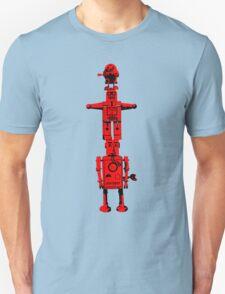 Robot Totem - BiLevel Red Unisex T-Shirt