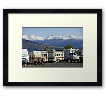 Prime Real Estate: Good Neighbours, Great Views Framed Print
