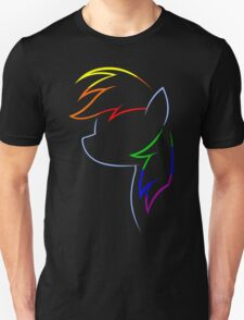 Flash of Rainbows Unisex T-Shirt