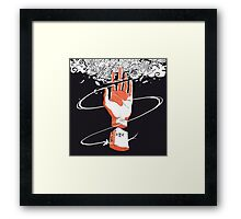 Anime Hand. Framed Print