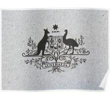 Australian Emblem Poster