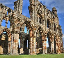 Whitby Abbey by David Stevens