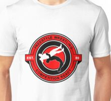 Freestyle Wrestling Competition Ready Suplex Red  Unisex T-Shirt