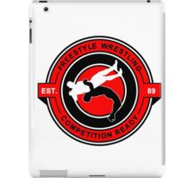 Freestyle Wrestling Competition Ready Suplex Red  iPad Case/Skin