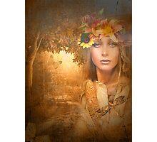 My Dearest Autumn ....  Photographic Print