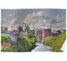 Aire cityscape Poster