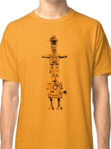 Robot Totem - BiLevel Orange Classic T-Shirt