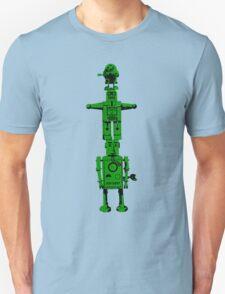 Robot Totem - BiLevel Green Unisex T-Shirt