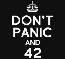 Don't Panic and 42 by jaayro