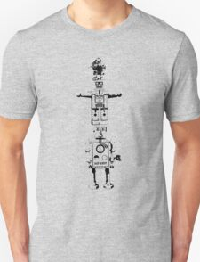 Robot Totem - Clear T-Shirt