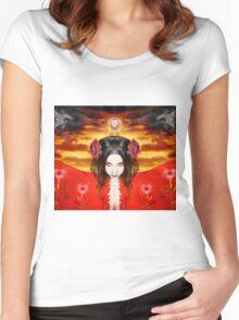 Persephone do I invoke Women's Fitted Scoop T-Shirt