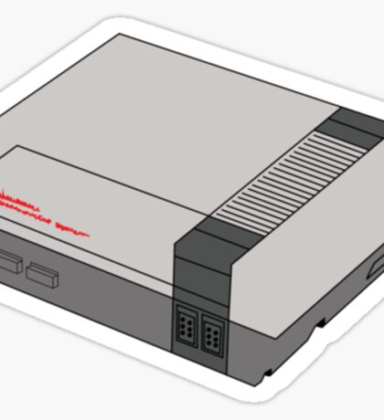 NES Sticker