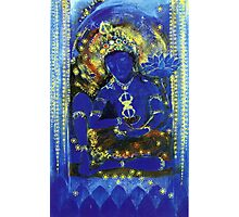 Peaceful Vajrapani Photographic Print
