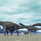 Argentinosaurus by Walter Colvin