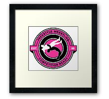 Freestyle Wrestling Competition Ready Suplex Pink  Framed Print