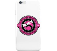 Freestyle Wrestling Competition Ready Suplex Pink  iPhone Case/Skin