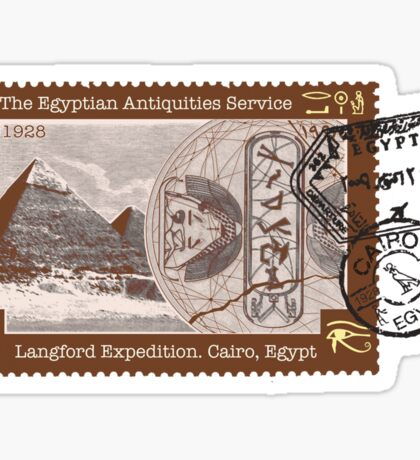 Stargate: the Langford expedition Sticker