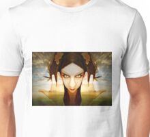 Something in her rises Unisex T-Shirt