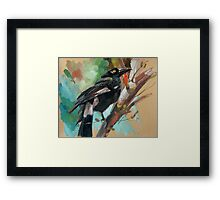 bird-12 Framed Print