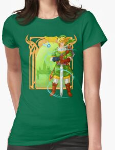 Link of Hyrule Womens Fitted T-Shirt