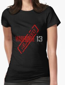 Warehouse 13 Reject Womens Fitted T-Shirt
