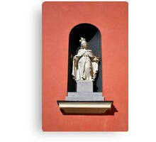 Virgin Mary statue. Canvas Print