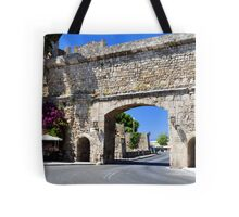 Rhodes old town. Tote Bag