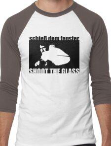Die Hard: Shoot the glass Men's Baseball ¾ T-Shirt