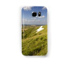 The Westbury White Horse, Wiltshire, UK Samsung Galaxy Case/Skin