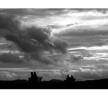 Sky ( what do U see???)  Photographic Print